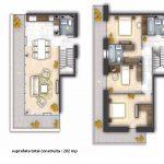 apartamenete de inchiriat de 4 camere duplex 202 mp, sector 4, Bucuresti