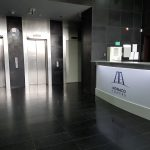 receptie birouri de inchiriat Monaco Towers